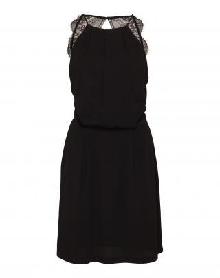 Samsoe Samsoe Letné šaty Willow 5687  čierna dámské 34