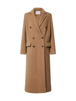 Samsoe Samsoe Prechodný kabát Falcon  horčicová dámské M