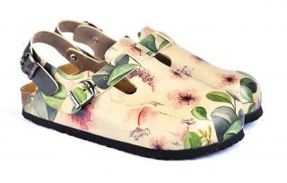 sandále Classic Sandal Flowers - 37 dámské 37