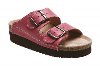 SANTÉ Zdravotná obuv dámska N / 25 / C30 / H / K / CP svetlo červená 38
