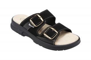 SANTÉ Zdravotná obuv dámska N / 517/33/68 / CP čierna 38