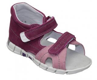 SANTÉ Zdravotná obuv detská N / 950/803/74/73 fialová 34