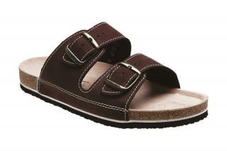 SANTÉ Zdravotná obuv pánska N / 26/52 / H / CP hnedá 42 pánské