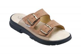 SANTÉ Zdravotná obuv pánska N / 517/36/47/28 / CP hnedá 46 pánské