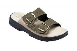 SANTÉ Zdravotná obuv pánska N / 517/36/98/28 / CP khaki 43 pánské