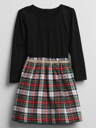 Šaty GAP Farebná čierna 80-86