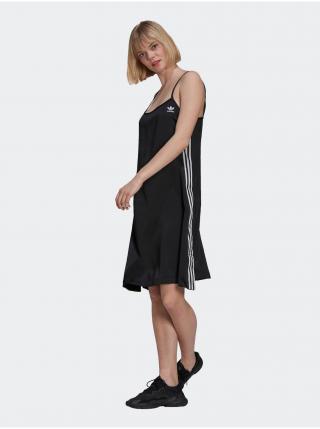 Šaty na denné nosenie pre ženy adidas Originals - čierna dámské XS