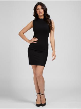 Šaty na denné nosenie pre ženy Guess - čierna dámské XS