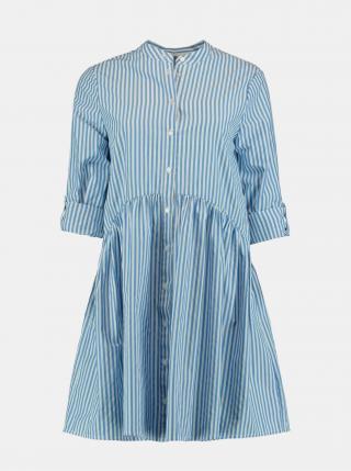 Šaty na denné nosenie pre ženy Hailys - modrá, biela dámské XS