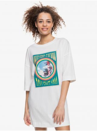 Šaty na denné nosenie pre ženy Roxy - biela dámské S