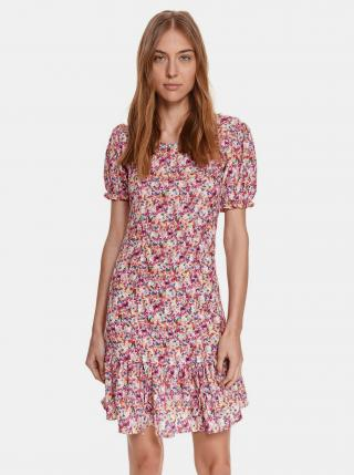 Šaty na denné nosenie pre ženy TOP SECRET - ružová dámské L