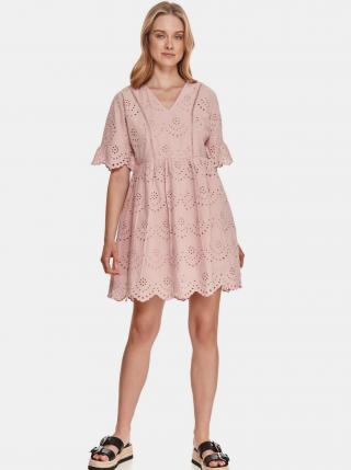 Šaty na denné nosenie pre ženy TOP SECRET - svetloružová dámské XS