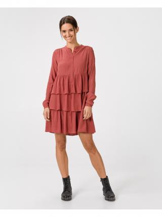 Šaty na denné nosenie pre ženy VERO MODA - červená, oranžová dámské L