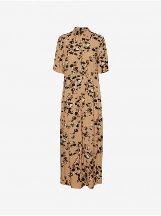 Šaty na denné nosenie pre ženy VERO MODA - hnedá dámské L