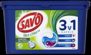 SAVO Universal Trio na farebnú i bielu bielizeň  - kapsule na pranie