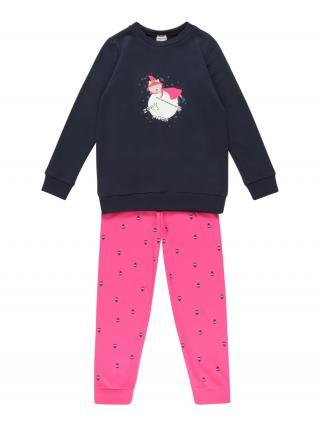 SCHIESSER Pyžamo  modrá / ružová dámské 104