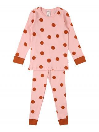 SCHIESSER Pyžamo  ružová / hrdzavo červená dámské 104