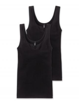 SCHIESSER Tielko  čierna dámské XL