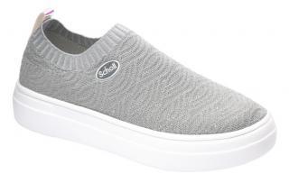 Scholl Zdravo tne obuv - FREELANCE glittext-W - Grey 40