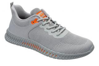 Scholl Zdravo tne obuv - THOMAS Knittext-M - Grey 39 pánské