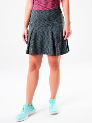 Šedá žíhaná sukňa LOAP dámské sivá XS