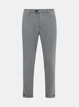 Šedé nohavice Jack & Jones Marco pánské sivá M