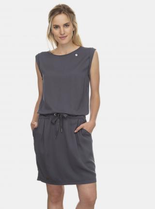 Šedé šaty Ragwear Mascarpone - S dámské sivá S