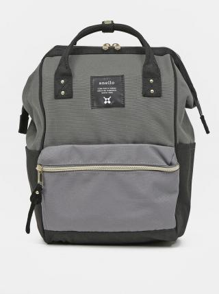 Šedý batoh Anello 10 l dámské sivá