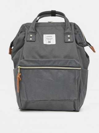 Šedý batoh Anello 18 l dámské sivá
