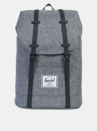 Šedý batoh Herschel Supply pánské sivá