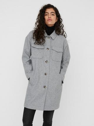 Šedý ľahký kabát VERO MODA Dafne dámské sivá M