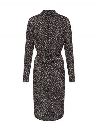 SELECTED FEMME Košeľové šaty SLFELEA LS  čierna dámské 34