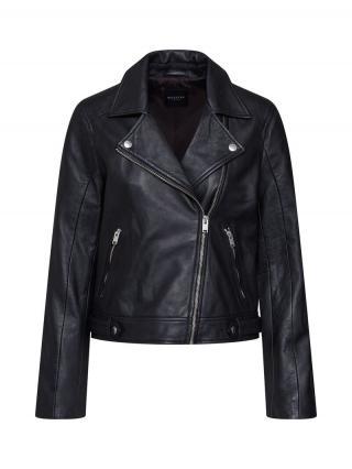 SELECTED FEMME Prechodná bunda SLFKATIE LEATHER JACKET B NOOS  čierna dámské XS