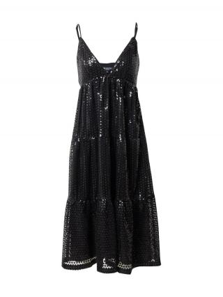 SELECTED FEMME Večerné šaty Pamela  čierna dámské 34