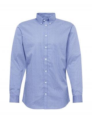 SELECTED HOMME Košeľa  modrá / biela pánské S