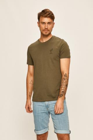 Selected - Tričko pánské zelená S