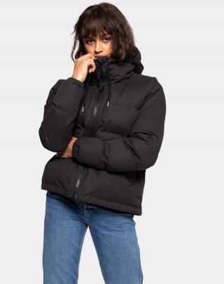 Selfhood Hooded Puffer Jacket Black XS dámské Čierna XS