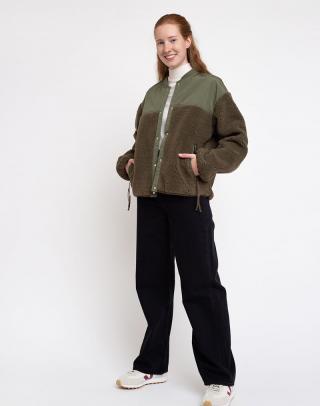 Selfhood Teddy Jacket Army XS dámské Zelená XS