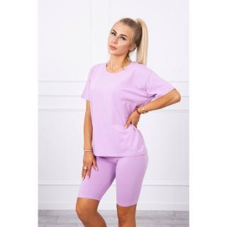 Set of top leggings purple dámské Neurčeno One size