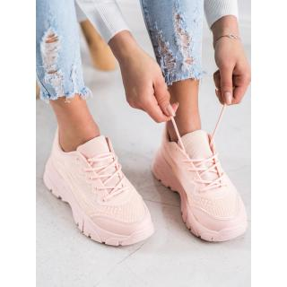 SHELOVET POWDER SNEAKERS dámské shades of pink 41
