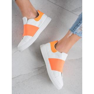 SHELOVET SLIP-ON FOOTWEAR WITH ERASER dámské shades of orange 41