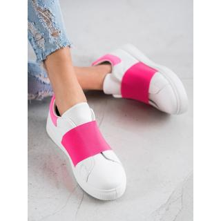 SHELOVET SLIP-ON FOOTWEAR WITH ERASER dámské shades of pink 39