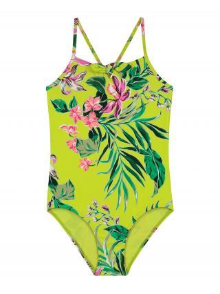 Shiwi Jednodielne plavky  limetová dámské 176