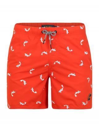 Shiwi Plavecké šortky Koi  červená pánské S
