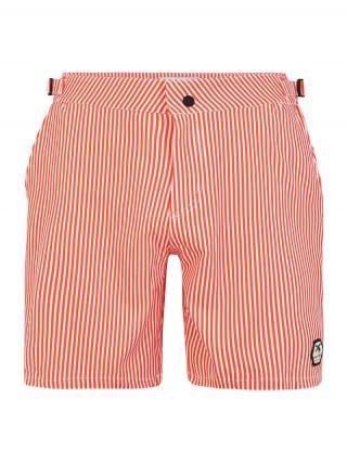 Shiwi Plavecké šortky Pinstripe  svetločervená pánské L