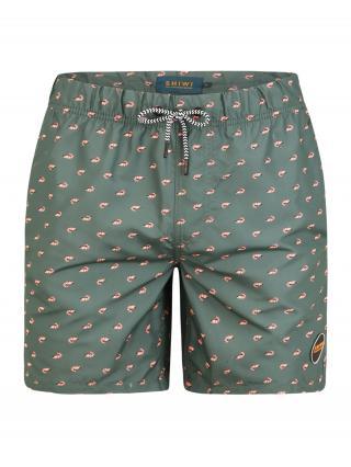 Shiwi Plavecké šortky  tmavozelená pánské S