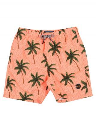 Shiwi Plavecké šortky  zelená / neónovo oranžová pánské 164