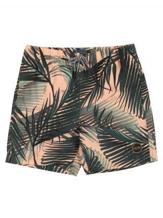 Shiwi Plavky boys swimshort foliage  broskyňová / zelená pánské 140