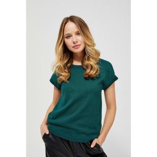 Short sleeve sweater - green dámské Other XXL