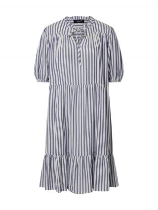 SISTERS POINT Šaty ILVO-DR  modrá / biela dámské 34
